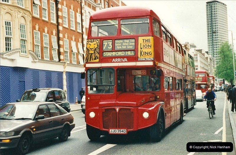 London Buses 1963 to 2007.  (333) 333