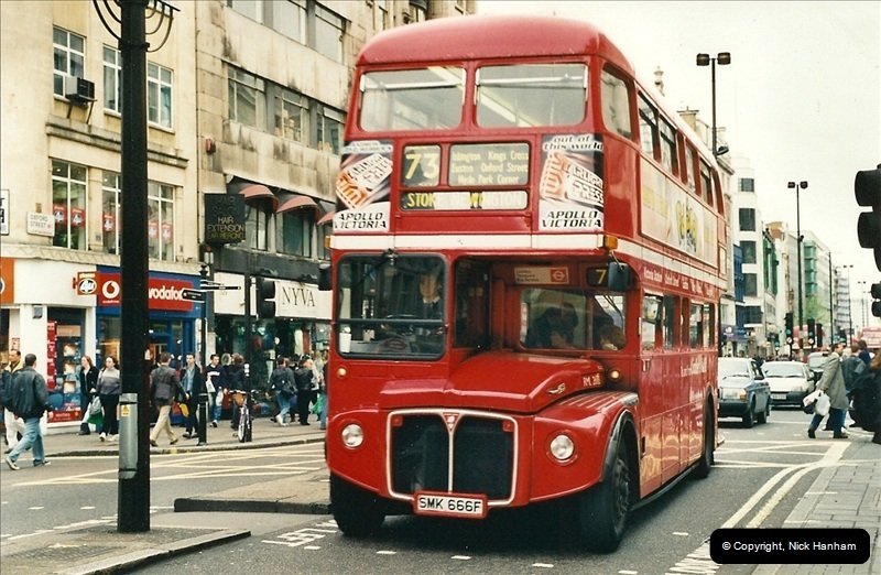 London Buses 1963 to 2007.  (336) 336