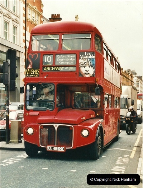 London Buses 1963 to 2007.  (337) 337