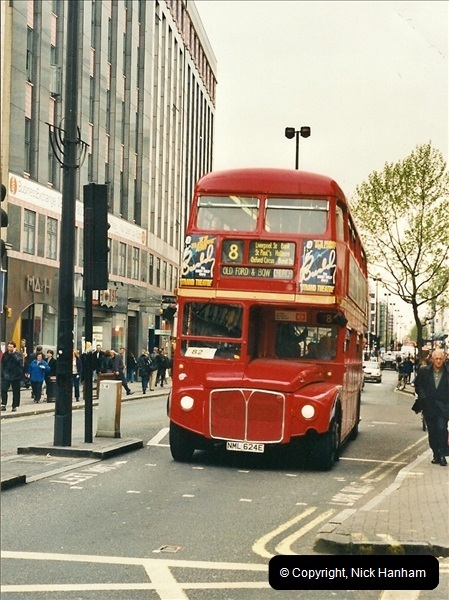 London Buses 1963 to 2007.  (340) 340