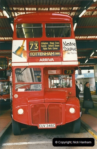 London Buses 1963 to 2007.  (349) 349