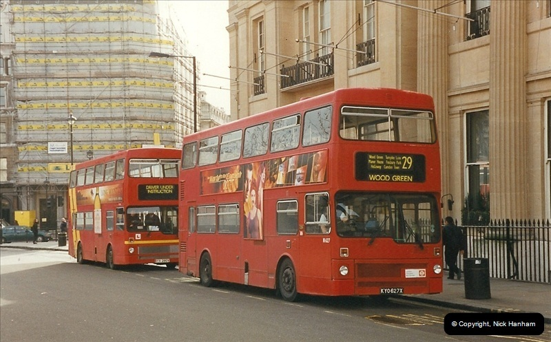London Buses 1963 to 2007.  (398) 398