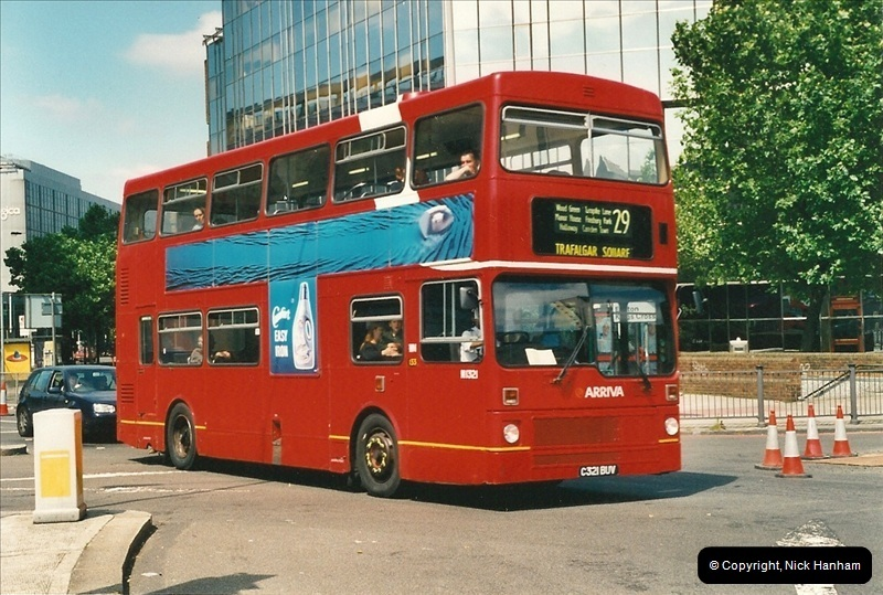 London Buses 1963 to 2007.  (403) 403