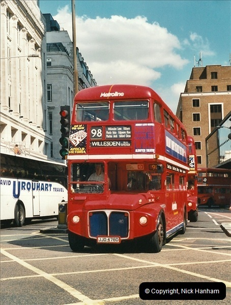 London Buses 1963 to 2007.  (417) 417
