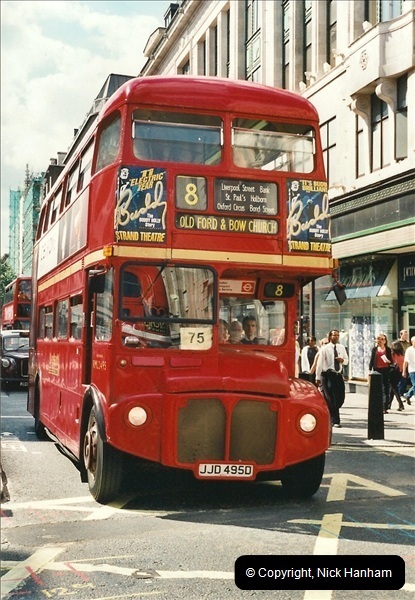 London Buses 1963 to 2007.  (420) 420