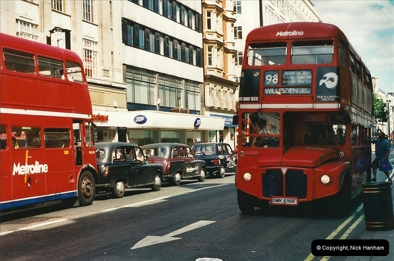 London Buses 1963 to 2007.  (430) 430