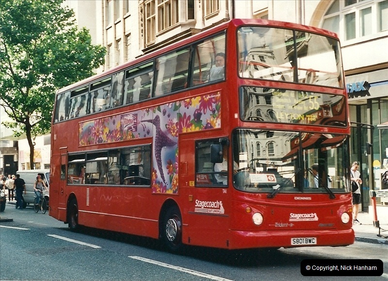 London Buses 1963 to 2007.  (434) 434