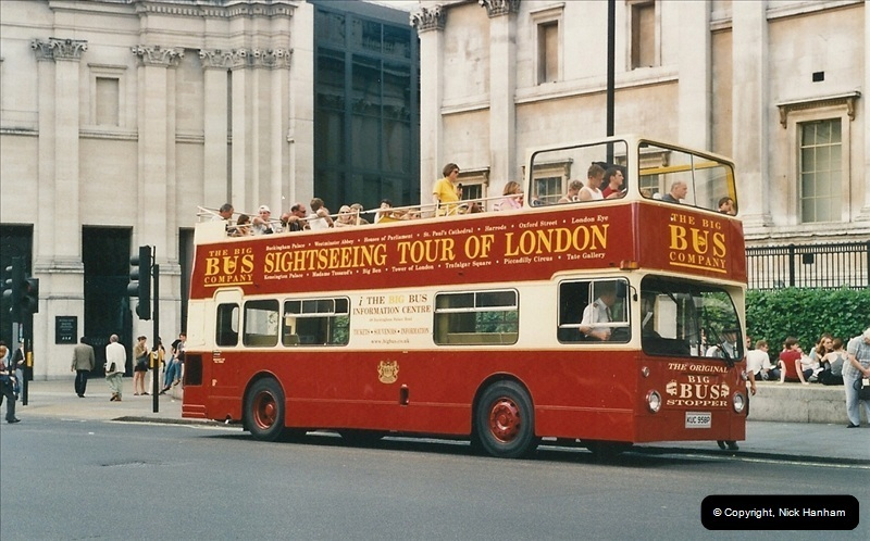 London Buses 1963 to 2007.  (445) 445