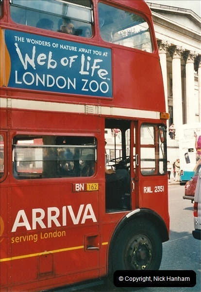 London Buses 1963 to 2007.  (446) 446