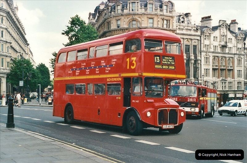 London Buses 1963 to 2007.  (450) 450