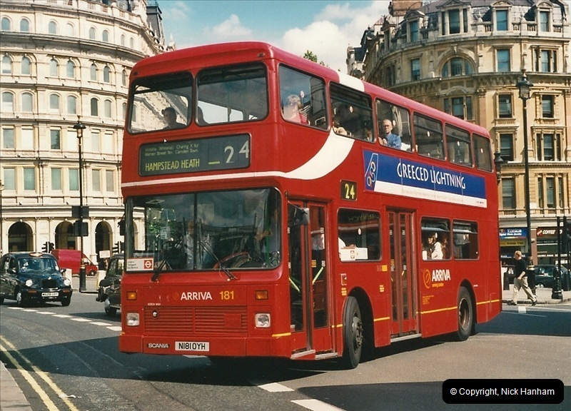 London Buses 1963 to 2007.  (453) 453