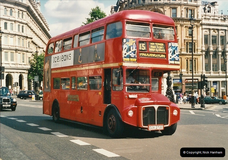London Buses 1963 to 2007.  (455) 455