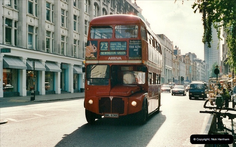 London Buses 1963 to 2007.  (466) 466