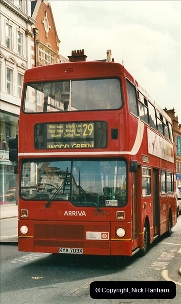 London Buses 1963 to 2007.  (469) 469