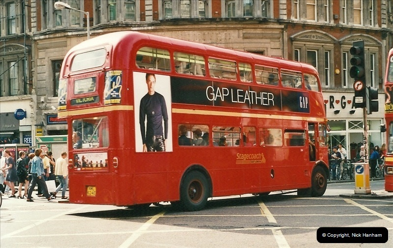 London Buses 1963 to 2007.  (473) 473