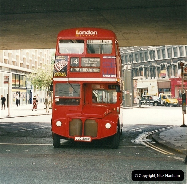 London Buses 1963 to 2007.  (474) 474
