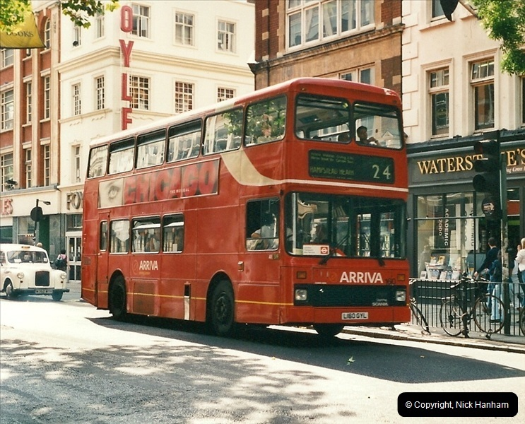 London Buses 1963 to 2007.  (475) 475