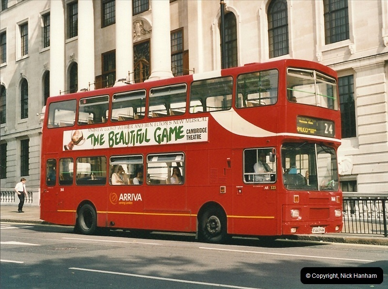 London Buses 1963 to 2007.  (480) 480