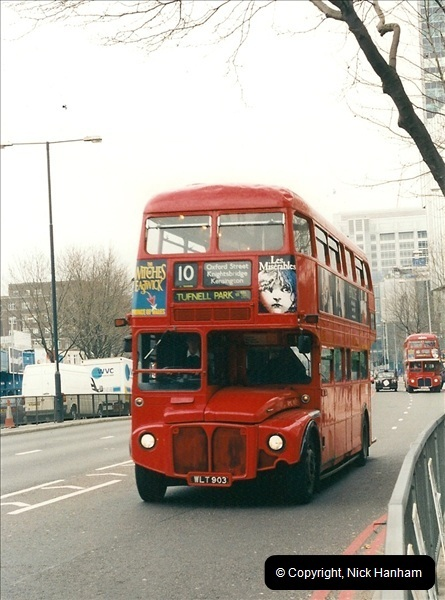 London Buses 1963 to 2007.  (531) 531