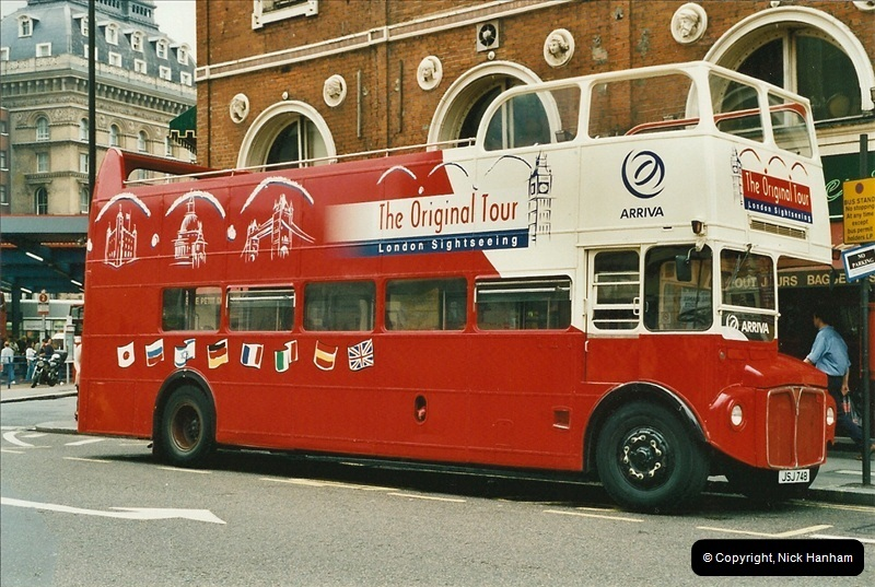 London Buses 1963 to 2007.  (540) 540