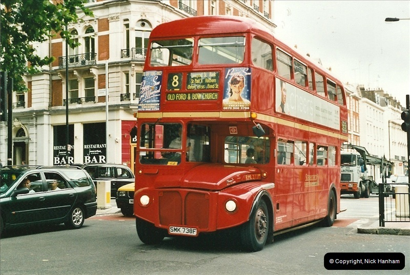 London Buses 1963 to 2007.  (543) 543