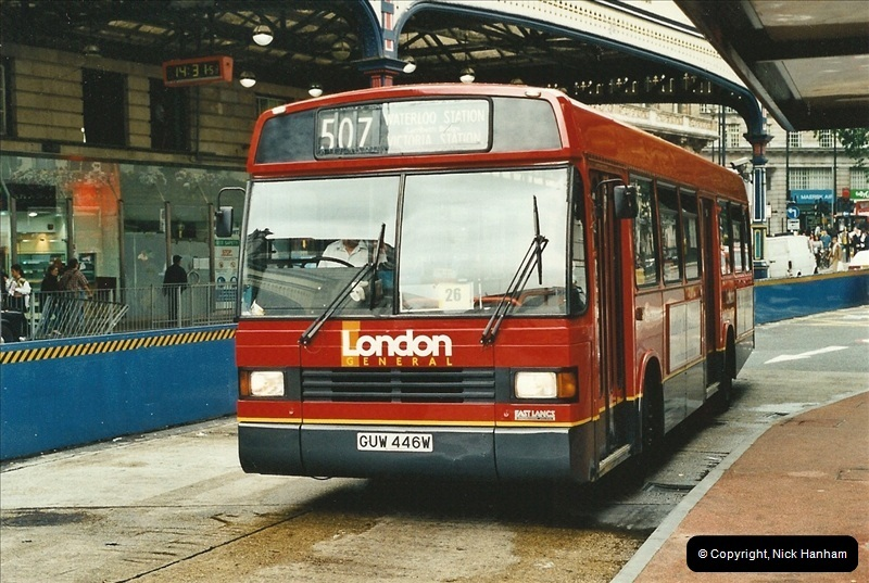 London Buses 1963 to 2007.  (549) 549