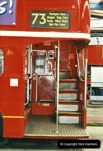 London Buses 1963 to 2007.  (559) 559