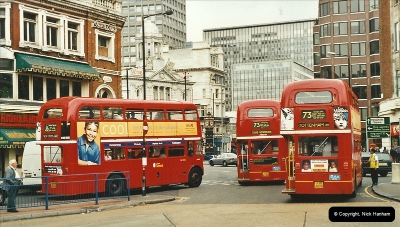 London Buses 1963 to 2007.  (564) 564