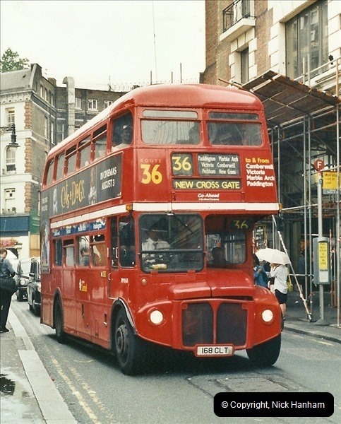 London Buses 1963 to 2007.  (577) 577