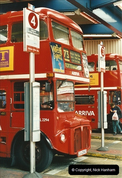 London Buses 1963 to 2007.  (578) 578