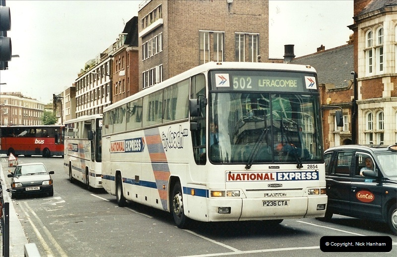 London Buses 1963 to 2007.  (594) 594