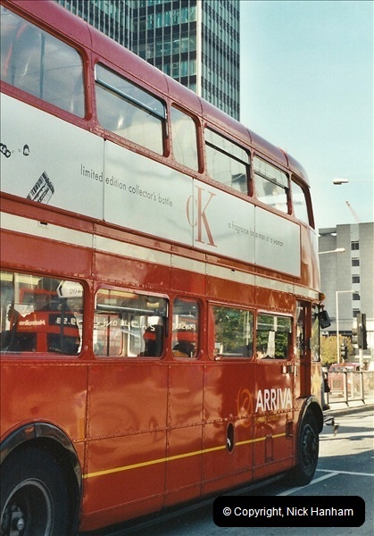 London Buses 1963 to 2007.  (602) 602