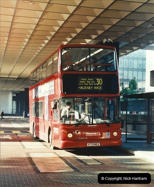 London Buses 1963 to 2007.  (604) 604