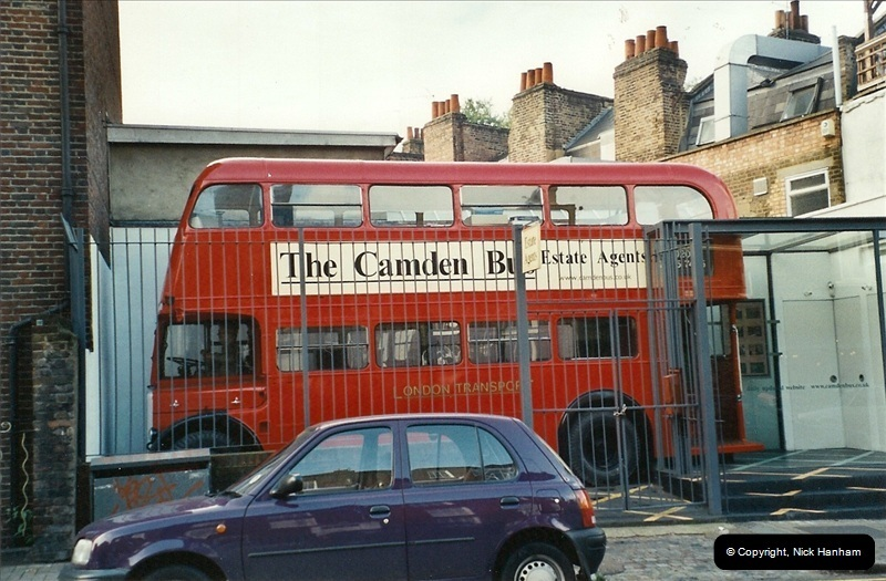 London Buses 1963 to 2007.  (606) 606