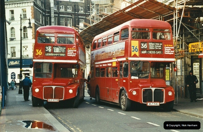 London Buses 1963 to 2007.  (613) 613