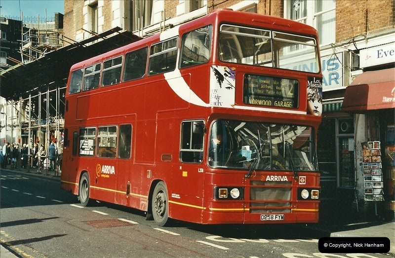 London Buses 1963 to 2007.  (615) 615
