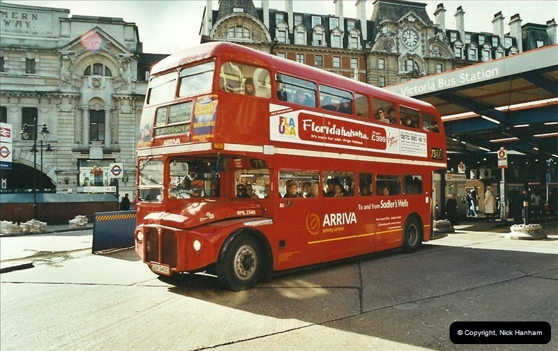 London Buses 1963 to 2007.  (616) 616