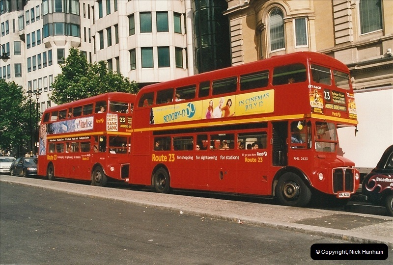 London Buses 1963 to 2007.  (626) 626