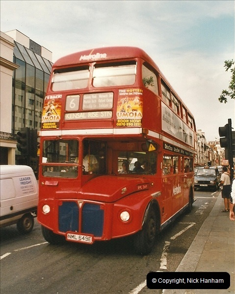 London Buses 1963 to 2007.  (629) 629
