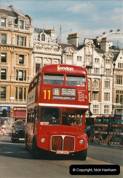 London Buses 1963 to 2007.  (630) 630