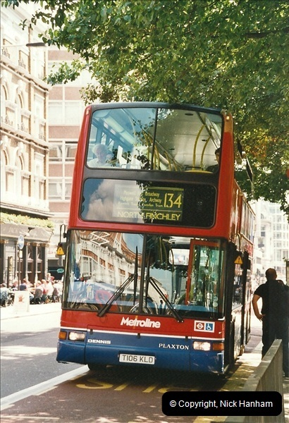 London Buses 1963 to 2007.  (631) 631