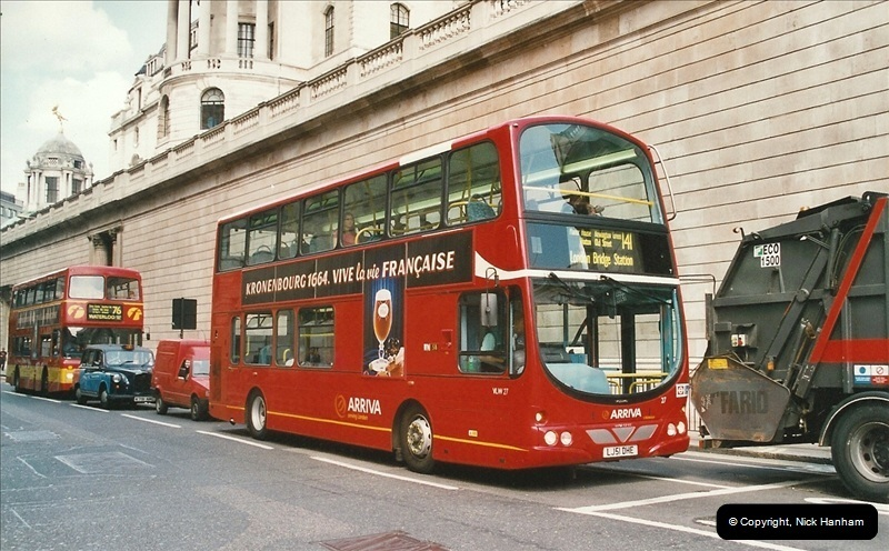 London Buses 1963 to 2007.  (639) 639