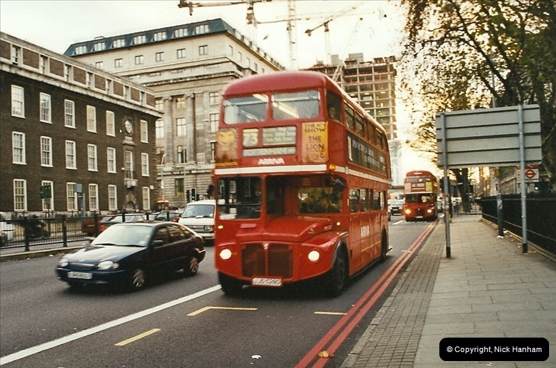 London Buses 1963 to 2007.  (645) 645