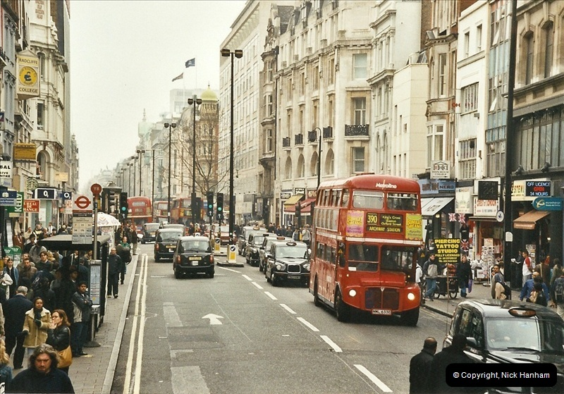 London Buses 1963 to 2007.  (649) 649