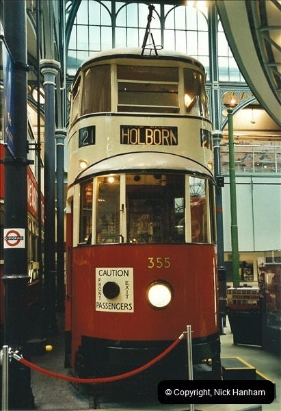 London Buses 1963 to 2007.  (655) 655