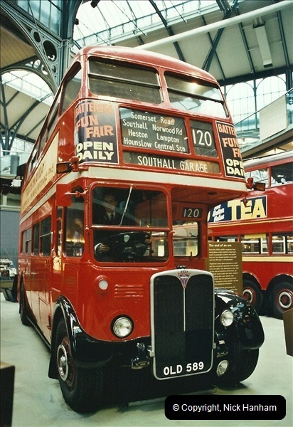 London Buses 1963 to 2007.  (656) 656