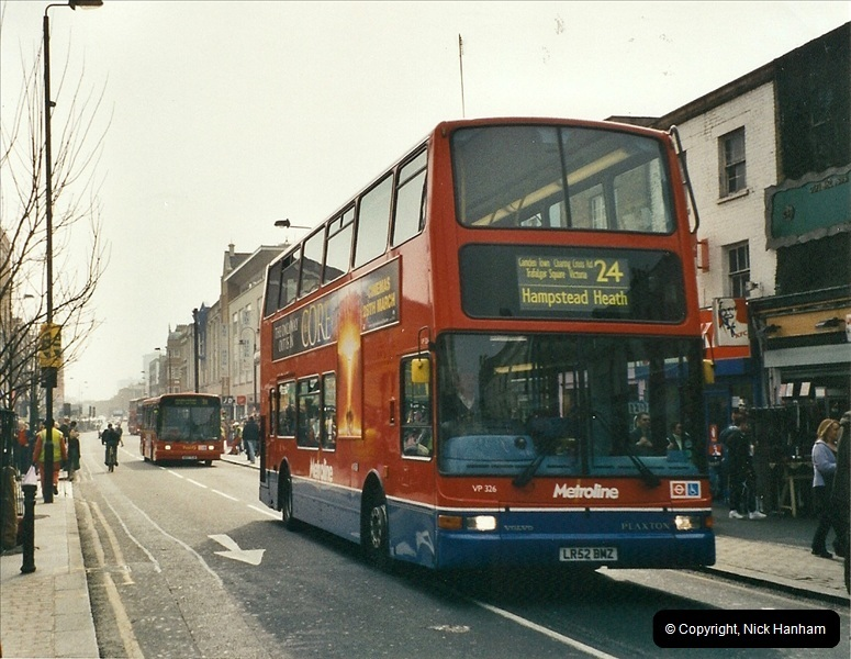 London Buses 1963 to 2007.  (659) 659