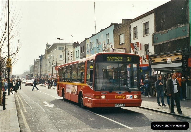 London Buses 1963 to 2007.  (660) 660