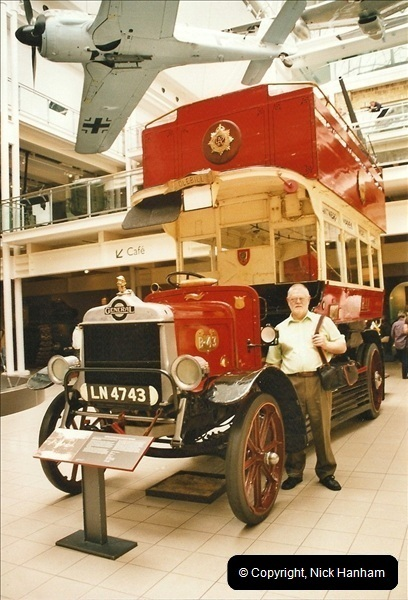London Buses 1963 to 2007.  (675) 675