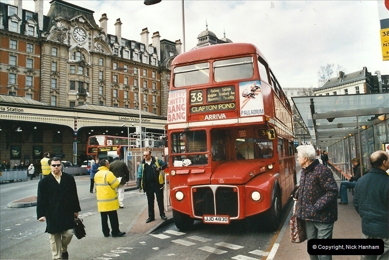 London Buses 1963 to 2007.  (685) 685